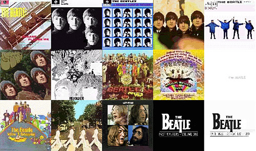 This was originally just a collection of the 15 Beatles Albums I had as my